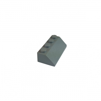 4 Slope 45 2 x 4  LIGHT BLUISH GRAY  3037 LEGO Parts~