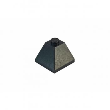 4 x LEGO® 3045 Systemstein Dachsteine First Außenecke 2x2// 45°in schwarz Neuware
